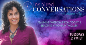 I'm excited to join best-selling Publisher and Host Linda Joy on the Inspired Conversations Radio Show on the #OMTimes network on Tuesday, September 20 at 2pm ET.