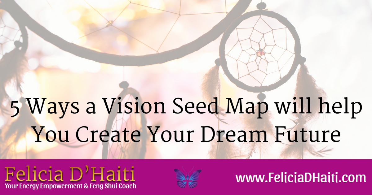 5 Ways a Vision Seed Map will help You Create Your Dream Future